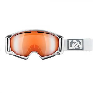 K2 Captura - White Goggle - White / Sonar Silver Tripic Mirror