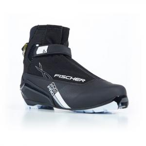 Fischer Men ' S Xc Comfort Pro Silver Nordic Boot - Black / Silver