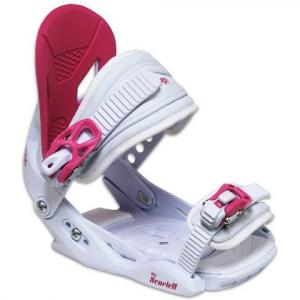 Capix Girls Youth Scarlet Snowboard Bindings