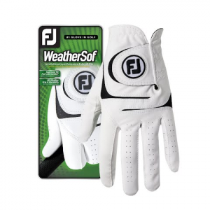 Footjoy Weathersof Golf Glove - White