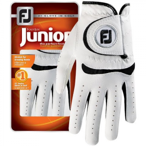 Footjoy Junior Golf Glove - White