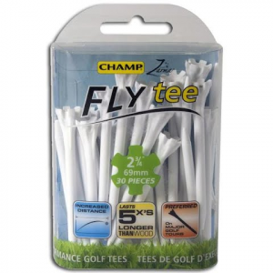 Charter Products Champ Zarma 2 3 / 4 Inch Flytees ( 30 Pack ) - Pink