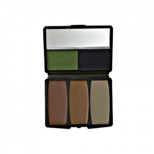 Hunter Specialties Camo - Compac 5 Color Military / Forest Makeup Kit