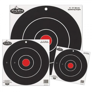 Birchwood Casey Dirty Bird 12 Inch Bullseye : 12 Targets