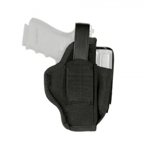 Blackhawk Ambidextrous Holster With Mag Pouch For 3 . 25 - 3 . 75 Inch Barrel Large Autos
