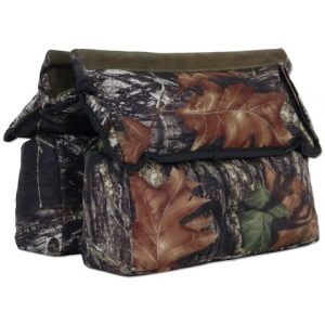 Aa And E Leather Shooting Bag - Mossy Oak Break - Up