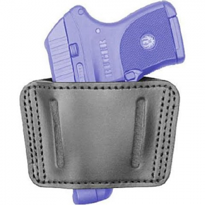 Blackhawk Sportster Leather Ambidextrous Belt Slide Holster ( Small )