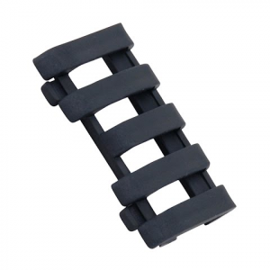 Ergo Grips 5 Slot Lowpro Wire Loom Rail Covers - Black