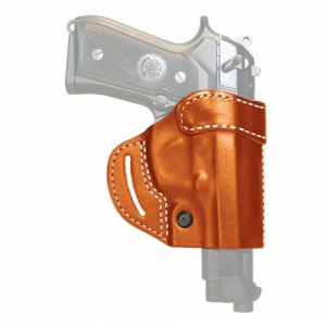 Blackhawk Compact Askins Leather Concealment Holster ( S And W Mp All Models ) - Brown
