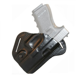 Blackhawk Check - Six Leather Concealment Holster ( Glock 17 ) - Black