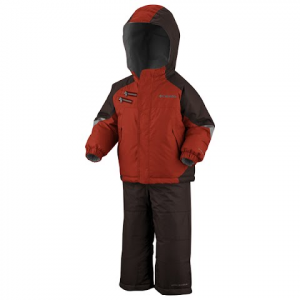 Columbia Boys Infant Rugged Reversible Snow Set - Flame