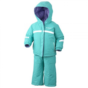 Columbia Girls Infant Brooklyn Reversible Snow Set - Reef