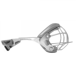 Cascade Lacrosse Women ' S Mini Pro Eye Protection - Silver / Silver