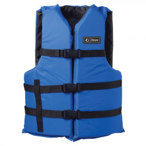 Onyx Adult L / 3xl General Purpose Pfd Vest - Blue / Black