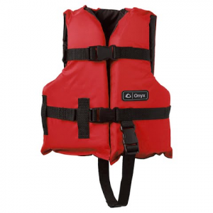 Onyx Youth General All Purpose Vest - Red / Black
