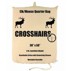 Crosshairs Elk / Moose 30x50 '' Quarter 8oz Bag