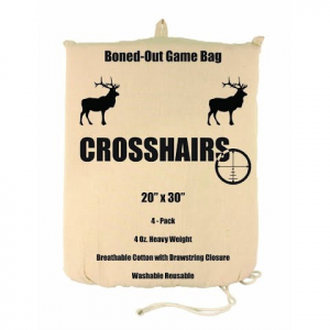 Crosshairs 20x30 In . / 4 Oz . Boned - Out Game Bag