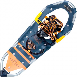 Atlas Snowshoes Women ' S Elektra Rendezvous Snowshoes - Grey / Orange