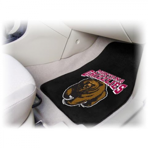 Fanmats University Of Montana Grizzlies Car Mats ( Set Of 2 ) - U Of M Grizzly Logo