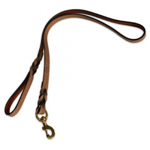 Browning Crazy Horse Genuine Leather Dog Lead