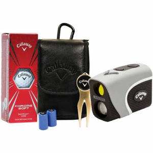 Callaway Micro Prism - Laser Golf Rangefinder Power Pack - Grey