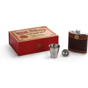 Big Sky Carvers Big Shot Flask Gift Set