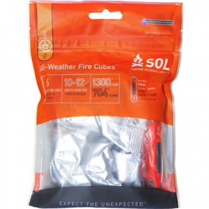 Adventure Medical Sol All - Weather Fire Cubes