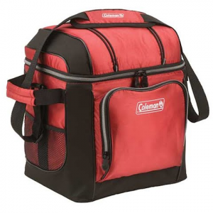 Coleman 30 Can Soft Cooler - Red
