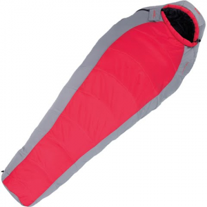 Alps Mountaineering Red Creek 0 Degree Long Sleeping Bag - Scarlet / Grey