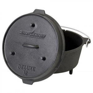 Camp Chef 12 '' Cast Iron Deluxe Dutch Oven