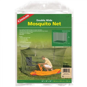 Coghlans Backwoods Mosquito Net , Double Green - Green