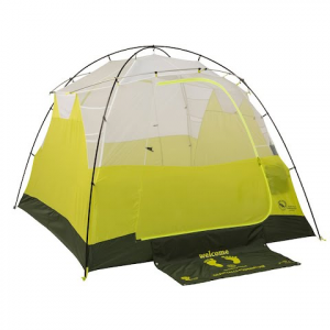 Big Agnes Gilpin Falls Powerhouse 4 Mtnglo Tent - White / Sulphur