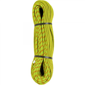 Edelweiss Curve 9 . 8mm X 60m Single Dynamic Climbing Rope - Green