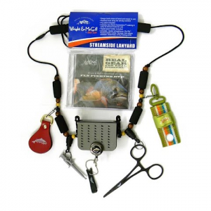 Eagle Claw Wright And Mcgill Streamside Lanyard With Tools And Dvd