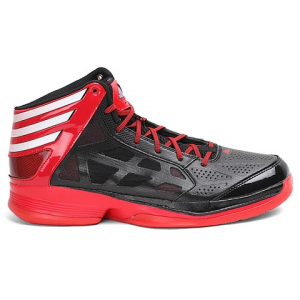 Adidas Mens Crazy Shadow Basketball Shoes - Black / White