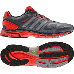 Adidas Men ' S Supernova Sequence 6 Running Shoe - Grey / Red