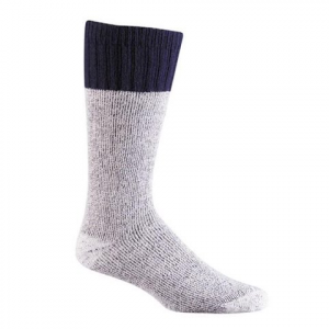 Fox River Mens Wick Dry Outlander Hiking Socks - Navy