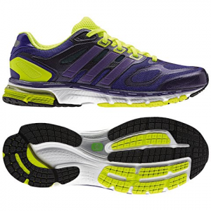 Adidas Women ' S Supernova Sequence 6 Running Shoe - Black / Purple