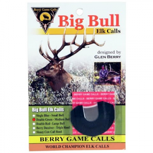 Berry Game Calls G2 Double Green Medium Bull Elk Reed
