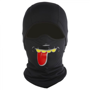 Ctr Youth Big Mouth Mtb Balaclava - Braces