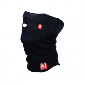 Airhole Youth Standard Drylite Airtube Face Mask - Simple Black