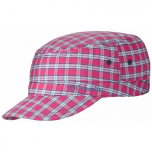 Columbia Youth Silver Ridge Patrol Cap - Haute Pink Plaid