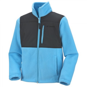 Columbia Youth Girls Ballistic Fleece Jacket - Bounty Blue