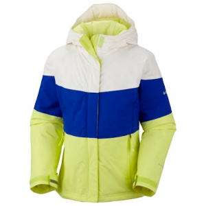 Columbia Youth Girls Triple Run Jacket - Neon