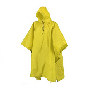 Camp Inn Youth Poncho - Yellow