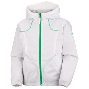 Columbia Youth Girls Wind Racer Jacket - White