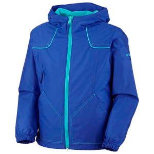 Columbia Girls Toddler Wind Racer Jacket - Clematis Blue