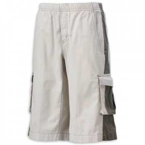Columbia Youth Boy ' S Sand Creek Cargo Short - Stone / Tank
