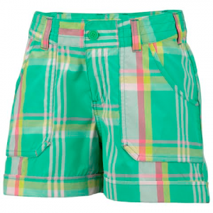 Columbia Girl ' S Preschool Silver Ridge Novelty Short - Winter Green