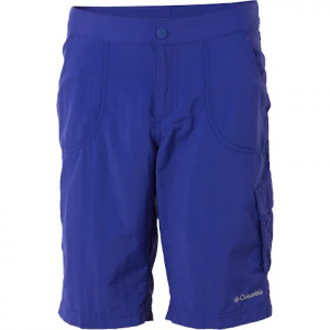 Columbia Girl ' S Youth Weekend Water Knee Short - Clematis Blue